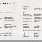 Spesifikasi Bangunan
