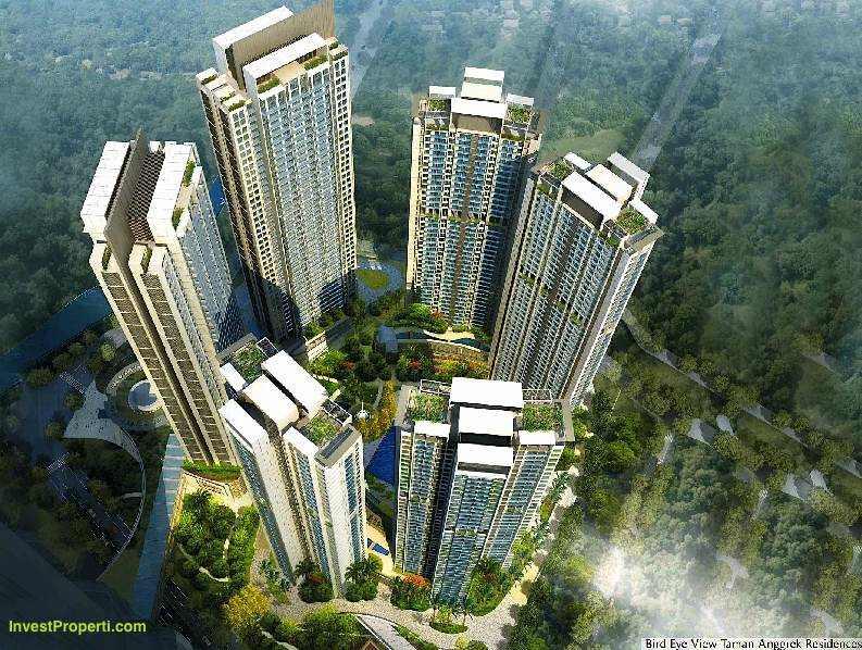 Bird Eye View Apartemen Taman Anggrek Residences