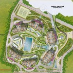 Taman Anggrek Residence Site Plan
