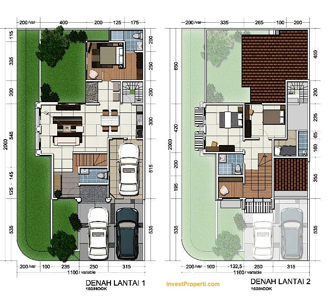 Unit Plan Sheffield 8 Hook Greenwich Park BSD City