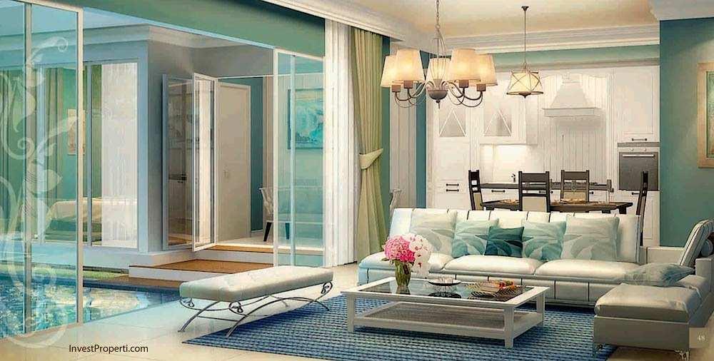 Design Livingroom Whitsand Tipe 10 Greenwich Park BSD