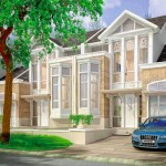 Design Rumah Cluster Whitsand Tipe 9 Greenwich Park BSD