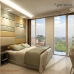 Design Kamar Tipe Studio Landmark Residence