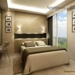 Design Kamar 2 BR Landmark Residence Apartemen