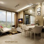 Design Living Room Landmark Residence Apartemen