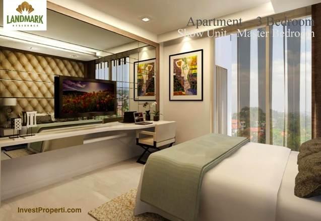 Design Master Bedroom Landmark Residence Apartment 3 BR