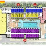 site plan lantai 1 swiss belhotel kuta bali
