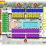 site plan lantai 2 swiss belhotel kuta bali