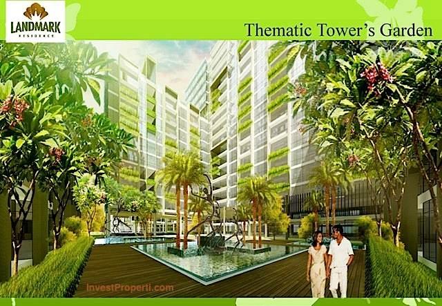 Thematic Tower Garden Landmark Residence