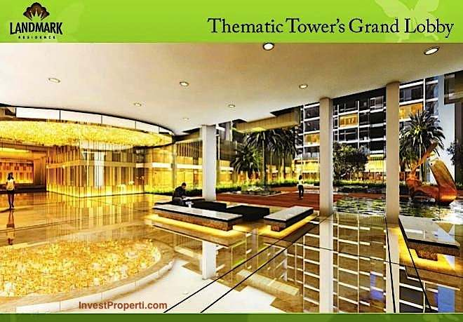 Thematic Tower Grand Lobby Landmark Residence