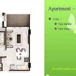 Tipe 1BR Landmark Residence Apartment Bandung