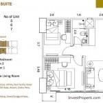 St Moritz Makassar Apartment Superior Suite Tipe S-2C