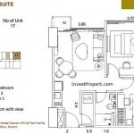 St Moritz Makassar Apartment Superior Suite Tipe S-2F