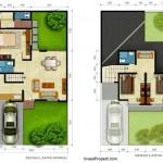 Denah Rumah Cluster Premier Savanna Tipe A