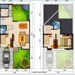 Denah Rumah Cluster Premier Savanna Tipe B