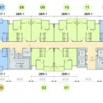 Floor Plan Skyline Apartemen Cawang South Tower