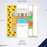 Floor Plan SOHO Brooklyn Alam Sutera 5th Floor