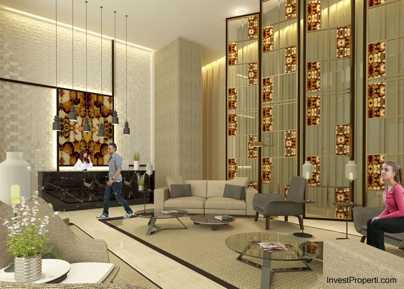 lobby Puri Mansion Apartment