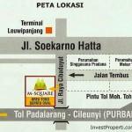 Map Location M-Square Cibaduyut Bandung