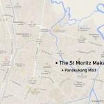 Map St Moritz Makassar