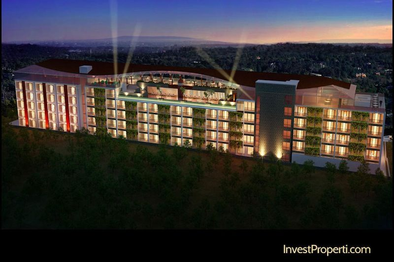 Meritus Seminyak Hotel Night View