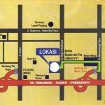 Peta Lokasi Mekar Wangi Square Bandung