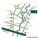 Peta Lokasi Premier Serenity Bekasi