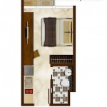 Puri Mansion Apartment Tipe Kamar Studio