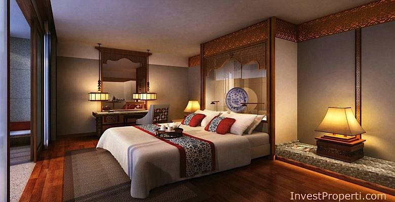 Master Bed Condotel Meritus Seminyak