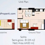 Unit Plan SOHO Brooklyn @ Alam Sutera