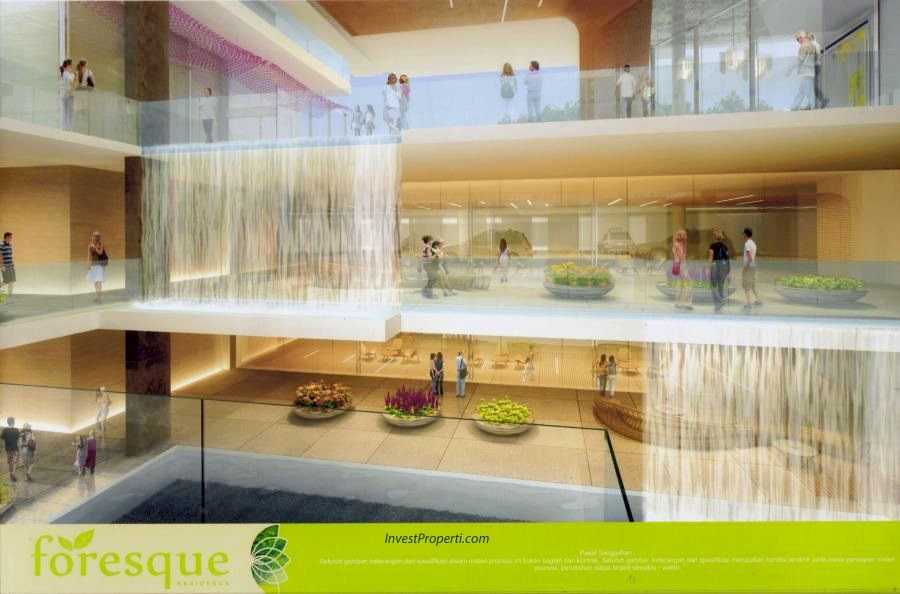 Lobby Apartemen Foresque Ragunan Jakarta