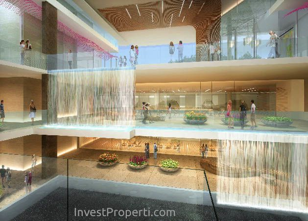 Lobby Apartemen The ForesQue