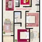 Tipe D Apartemen Foresque Ragunan 3 BR
