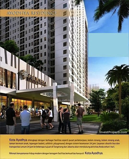 Brosur Kota Ayodhya Apartment Tangerang