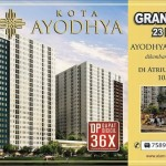 Brosur Kota Ayodhya Residence Apartemen Februari 2014