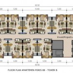 Floor Plan Apartemen Poris 88 Tower B
