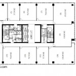 ITS Office Tower Floor Plan Lantai 15 17 19 21