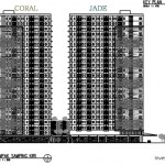 Key Plan Floor Zone Tower Kota Ayodhya Coral dan Jade