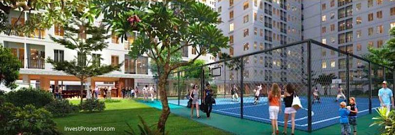 Lapangan Basket Apartemen Kota Ayodhya Tangerang