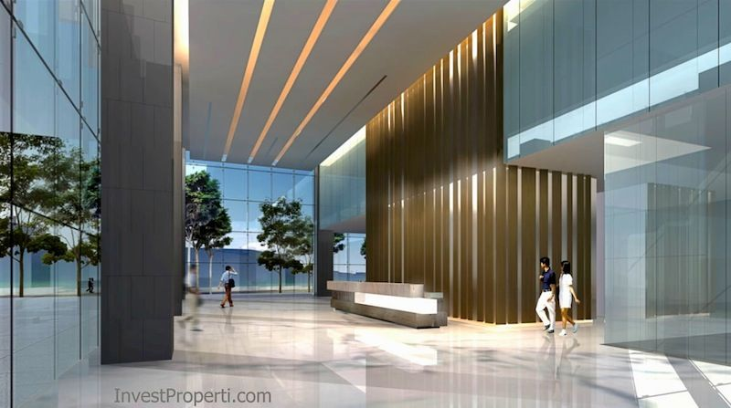 Lobby ITS Office Jakarta Selatan
