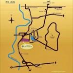 Peta Lokasi Apartemen Kota Ayodhya