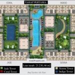 Site Plan Apartemen Kota Ayodhya Lantai 5 Tahap 1