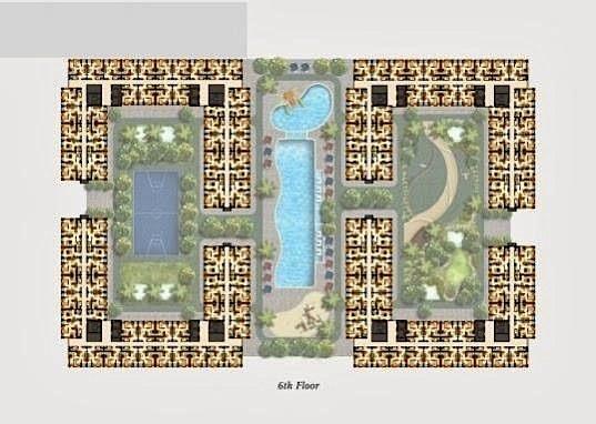 Site Plan Kota Ayodhya Apartemen Lt 6
