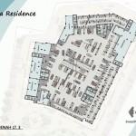 Vittoria Residence Denah Lt 3