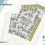 Vittoria Residence Denah Lt 5