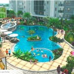 Lagoon Pool Apartemen Vittoria