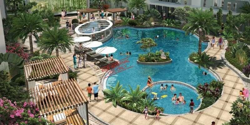 Lagoon Pool di Vittoria Residence