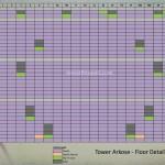 Floor Plan Apartemen K2 Park - Tower Arkose