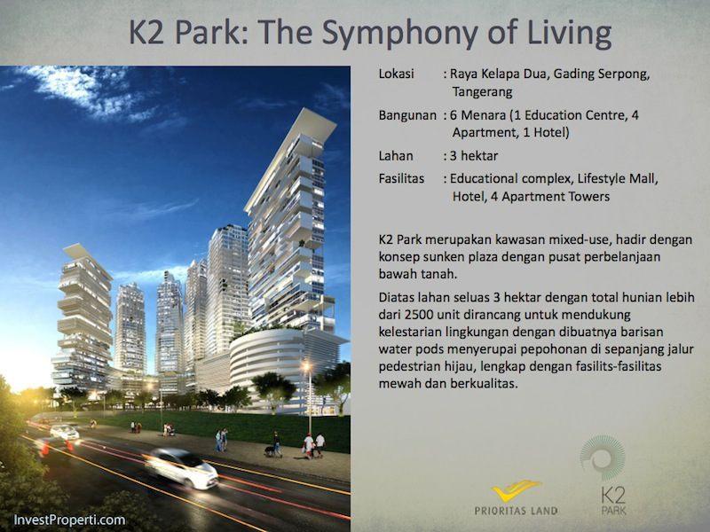 K2 Park Serpong - Kelapa Dua Tangerang
