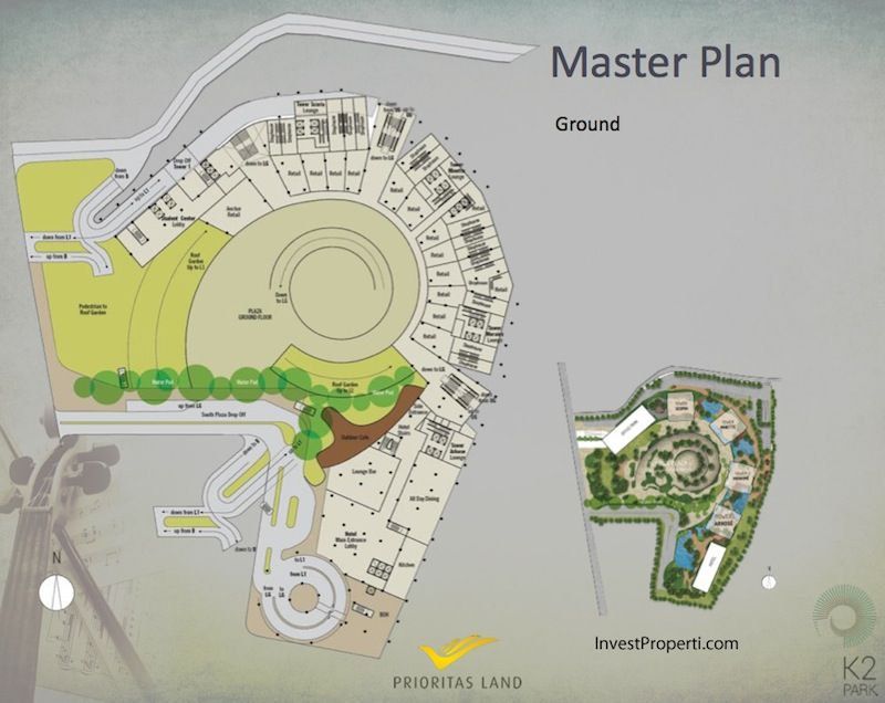 Master Plan Ground K2 Park Gading Serpong